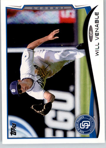 Photo of 2014 Topps #64 Will Venable