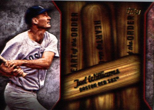 Photo of 2015 Topps Heart of the Order #HOR1 Ted Williams