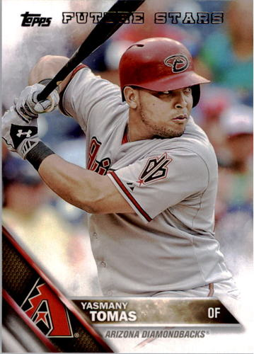 Photo of 2016 Topps #186 Yasmany Tomas FS
