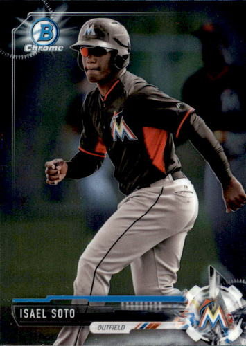 Photo of 2017 Bowman Chrome Prospects #BCP129 Isael Soto