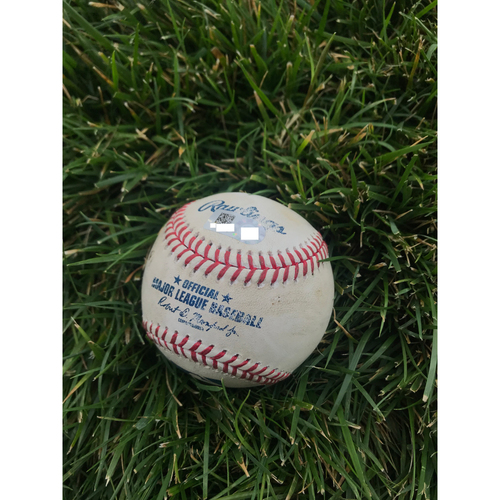 Photo of Cardinals Authentics: Game Used Pitched Baseball by Devin Williams to Paul DeJong *Home Run #22 of season*