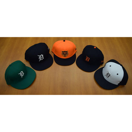 Detroit Tigers Foundation - Clubhouse Issued Cap Collection #1 (NOT MLB AUTHENTICATED)