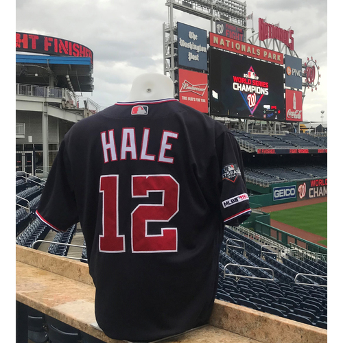 Photo of 2019 NLDS/NLCS Game-Used Jersey: Chip Hale