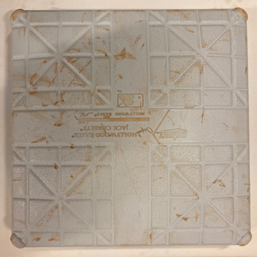 Photo of 2019 NLDS Game Used Base - Third Base Used During 7th Inning - 10/4/19