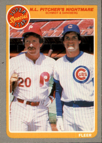 Photo of 1985 Fleer #630 Mike Schmidt/Ryne Sandberg