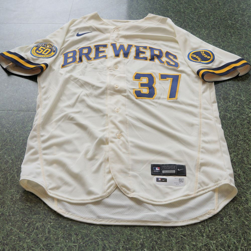 Photo of Adrian Houser Team Issued Jersey Opening Day 2020 - 8/3/2020