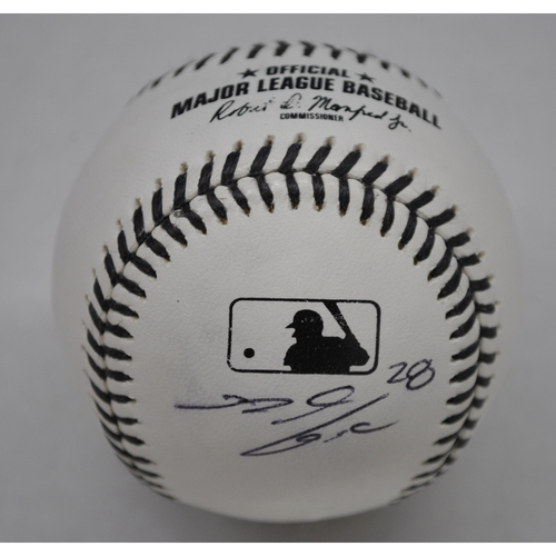 Photo of MLB Opening Day Auction Supporting The Players Alliance - Autographed Black Lives Matter Baseball - Nolan Arenado
