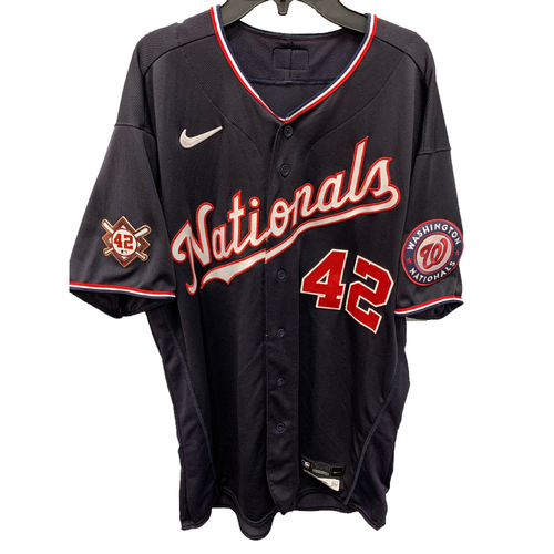 Photo of Dave Martinez - Jackie Robinson Day Game Used Jersey