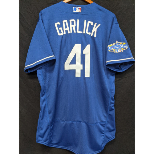 Photo of Kyle Garlick Team-Issued 2020 Spring Training Jersey with 2020 All Star Patch