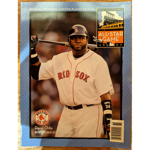 Photo of 2007 All Star Game Official Program - Limited Player Edition - David Ortiz