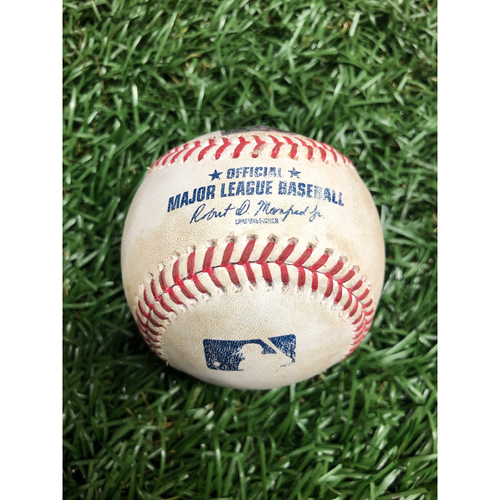 Photo of Spring Training Game Used Baseball: Ryan Jeffers single off Trevor Richards - Top 5 - March 1, 2021 v MIN