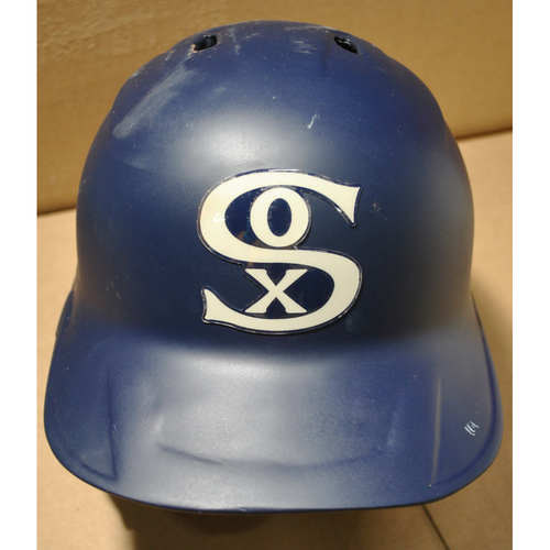 2021 New York Yankees vs. Chicago White Sox in Dyersville, Iowa - Team-Issued Batting Helmet - #28