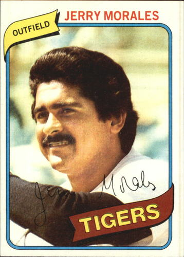 Photo of 1980 Topps #572 Jerry Morales DP