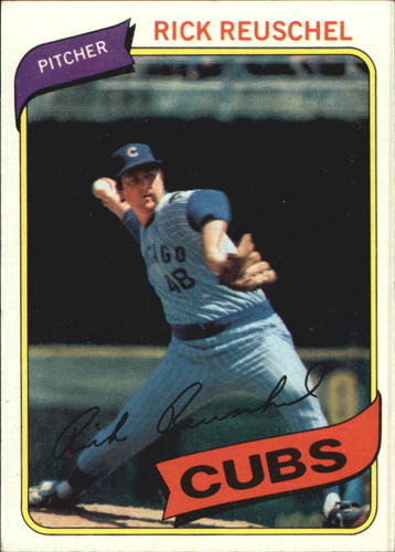 Photo of 1980 Topps #175 Rick Reuschel