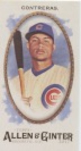 Photo of 2017 Topps Allen and Ginter Mini #192 Willson Contreras