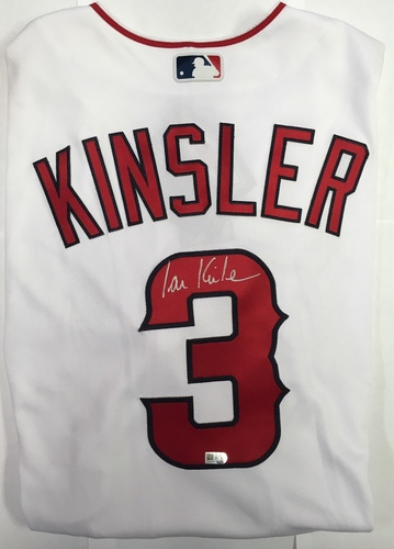 Photo of Ian Kinsler Autographed Authentic Angels Jersey