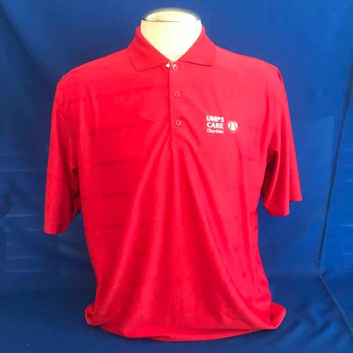 Photo of UMPS CARE AUCTION: UMPS CARE Antigua Tone Polo Shirt, Red, Size Large