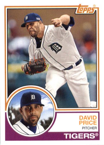 Photo of 2015 Topps Archives #255 David Price