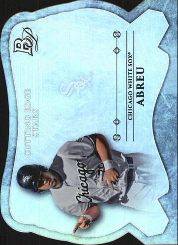 Photo of 2014 Bowman Platinum Cutting Edge Stars #CESJA Jose Abreu