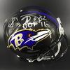 HOF - Ravens Shannon Sharpe Signed Proline Helmet