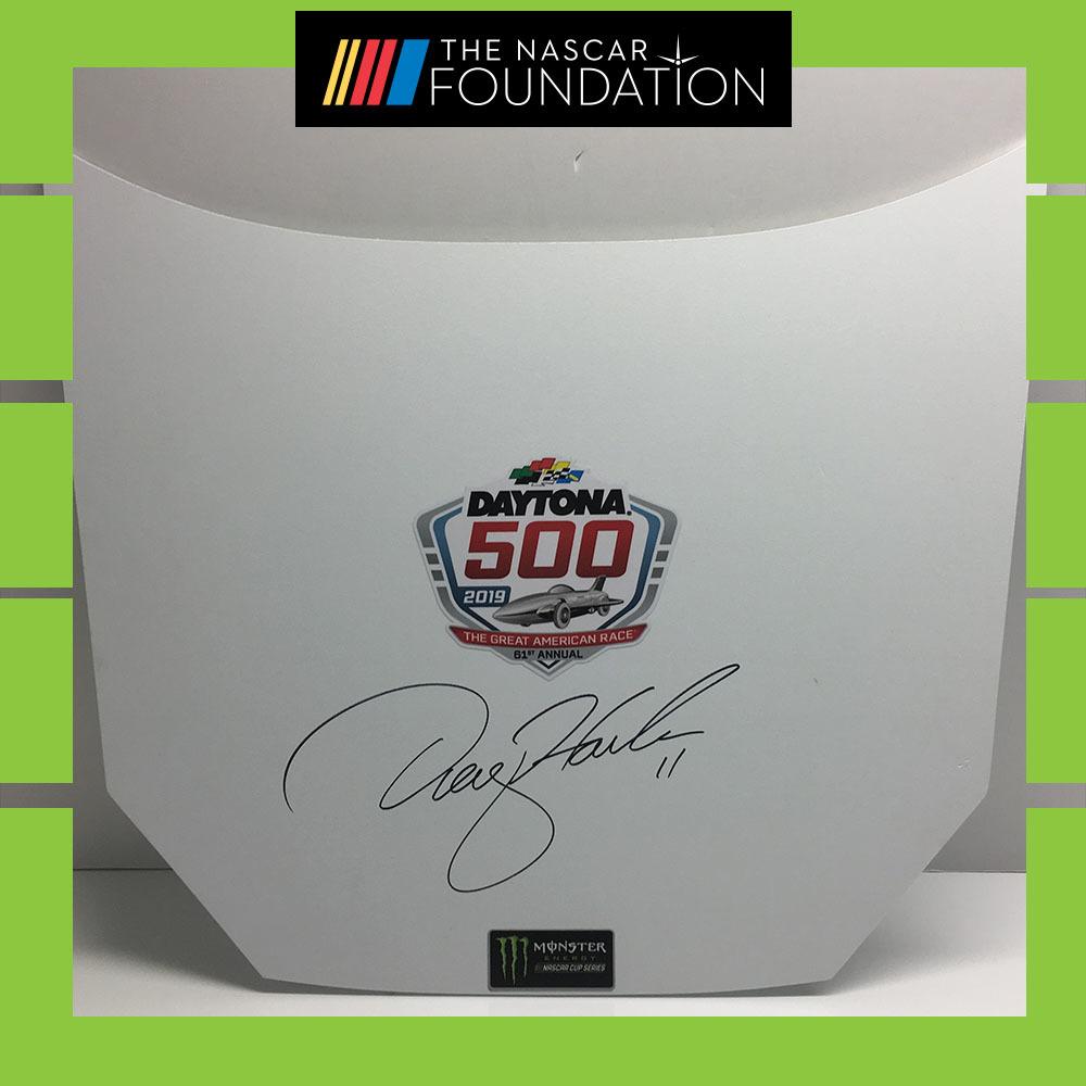 NASCAR's Denny Hamlin auto Hood!