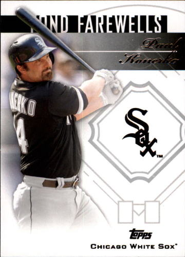 Photo of 2014 Topps Update Fond Farewells #FFPK Paul Konerko