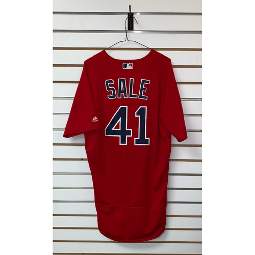 Photo of Chris Sale Team Issue 2019 Spring Training Jersey