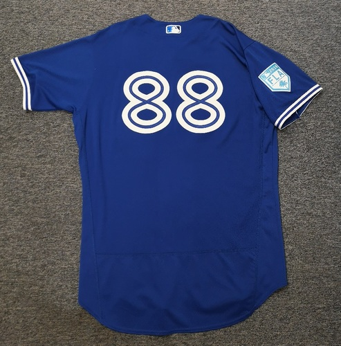 Photo of Authenticated Team Issued 2019 Spring Training Jersey - #88 Chad Spanberger. Size 48