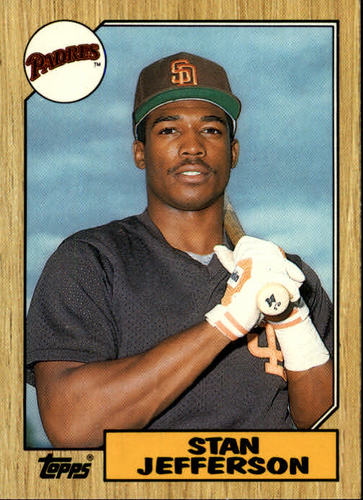 Photo of 1987 Topps Traded #55T Stan Jefferson
