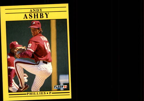 Photo of 1991 Fleer Update #105 Andy Ashby RC