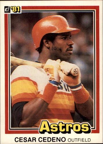 Photo of 1981 Donruss #263 Cesar Cedeno