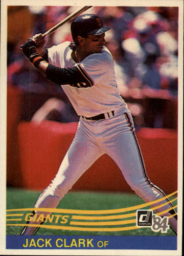 Photo of 1984 Donruss #65 Jack Clark