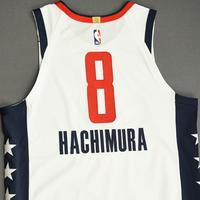 Rui Hachimura - Washington Wizards - Game-Worn City Edition Jersey - Scored Team-High 21 Points - 2019-20 NBA Season Restart