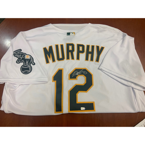 Photo of Oakland A's Community Fund: Sean Murphy Autographed Jersey