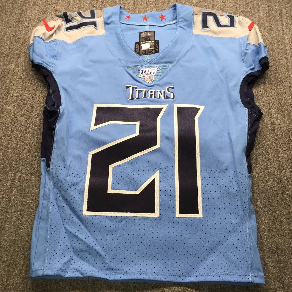 NFL Auction | STS - Titans Malcolm Butler Game Used Jersey (11/10 ...