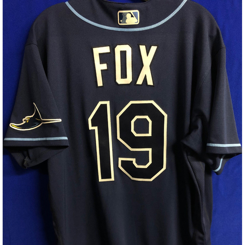 Photo of Team Issued Navy Jersey: Lucius Fox