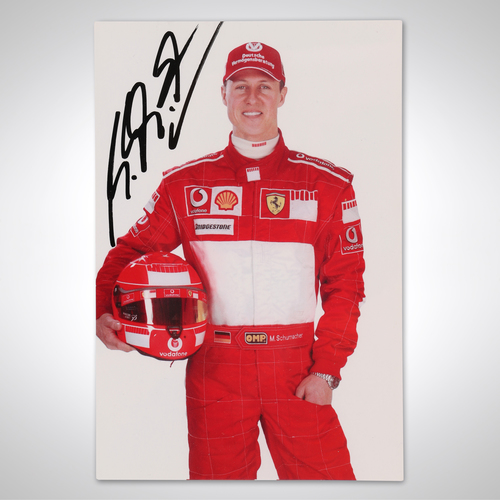 Photo of Michael Schumacher 2006 Signed Driver Card