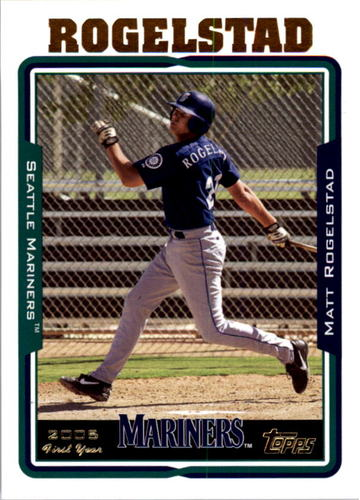 Photo of 2005 Topps #320 Matt Rogelstad FY RC