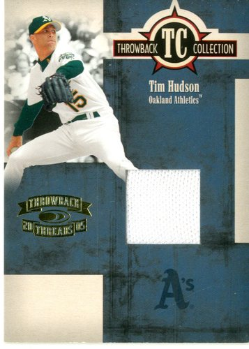 Photo of 2005 Throwback Threads Throwback Collection Material #54 Tim Hudson Jsy/500