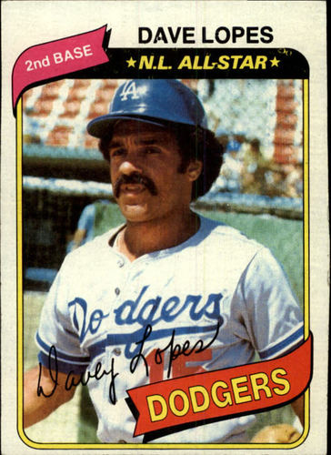 Photo of 1980 Topps #560 Dave Lopes