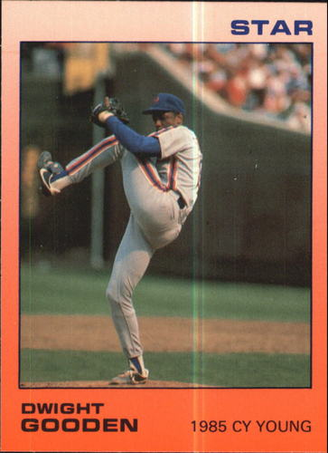 Photo of 1988 Star Gooden Glossy #7 Dwight Gooden/1985 Cy Young