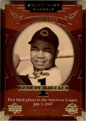 Photo of 2004 Sweet Spot Classic #124 Larry Doby FF/1947
