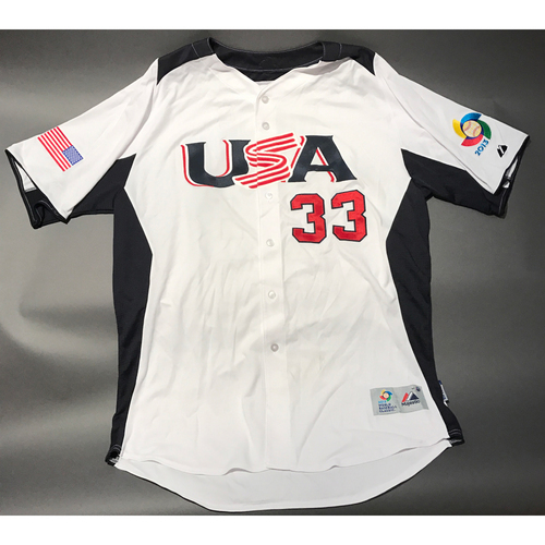 2013 World Baseball Classic Jersey - USA Jersey, Mitchell Boggs #33