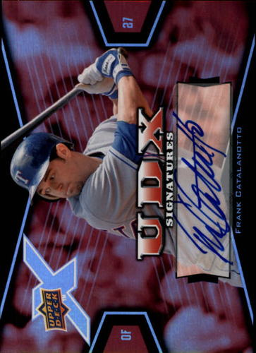 Photo of 2008 Upper Deck X Signatures #FC Frank Catalanotto AUTO Autograph