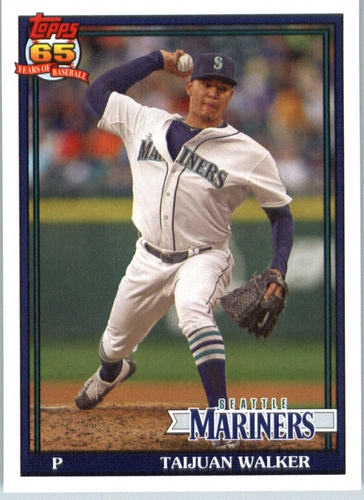 Photo of 2016 Topps Archives #272 Taijuan Walker -- D'backs post-season