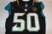 NFL INTERNATIONAL SERIES - JAGUARS TELVIN SMITH GAME WORN JAGUARS JERSEY (OCTOBER 2, 2016)