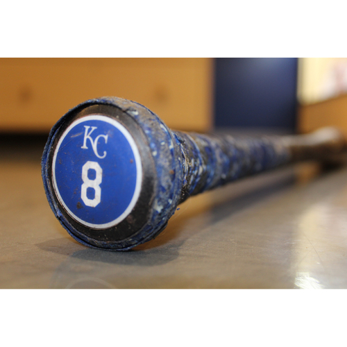 Photo of Team-Issued Bat: Mike Moustakas