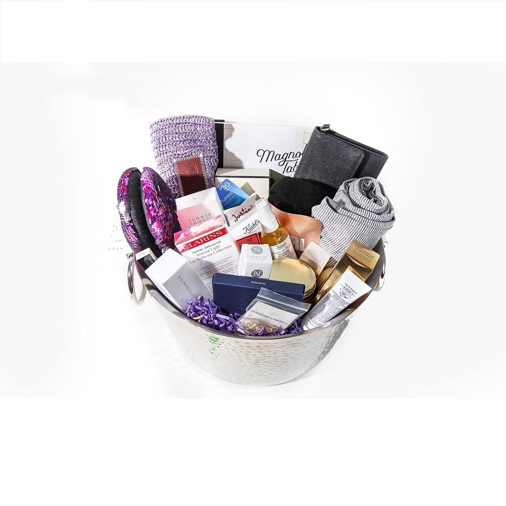 premium selection 13345 39e5e NJ Devils wives Hockey Fights Cancer Gift Basket - New ...