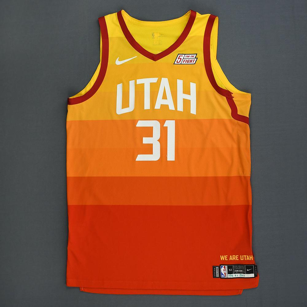Georges Niang - Utah Jazz - Game-Worn City Edition Jersey - 2018-19 Season