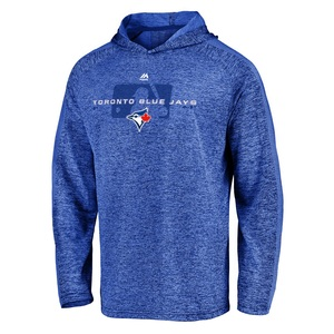 Toronto Blue Jays Authentic Collection Ultra Light Hoodie by Majestic